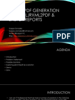 20160518_PDF Generation Using PLJRXML2PDF and Jasper