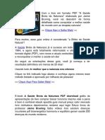 A Saúde Brota Da Natureza PDF - Jaime Bruning