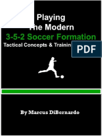 Playing the Modern 3-5-2 Soccer - Marcus DiBernardo