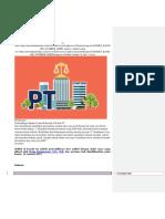 Dasar Hukum UD Atau PD
