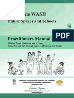 WASH Practitioners Manual - Accessibility of Public & School Toilet for Indians with Disabilities