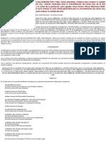 Modificacion a La Norma Oficial Mexicana Nom-020-Ssa1-1993