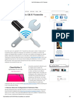 Fix Wi-Fi Problems in OS X Yosemite