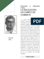 Entrevista a Estanislao Zuleta