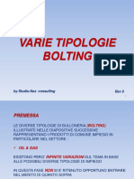Tipologia Bolting
