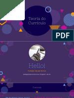 CURRÍCULO - Pedagogia Para Concurso