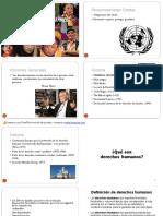 Clase 1ra Semana Derechos Humanos