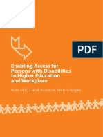 Journal- Enabling Access for Persons With Disabilities to Higher Education India