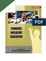 Delhi Inclusive Education Special Teachers Manual CWSN 14 IEDC Towards Inclusive Education Special Teachers 2010