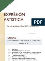 Clases Exp. Art. Primer Hemi.