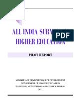 All India Survey Higher Education Disability PilotReport_1