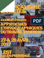Syndicalisme en Acte Presentation 2017
