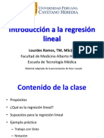 2017-2 Introduccion Regresion Lineal