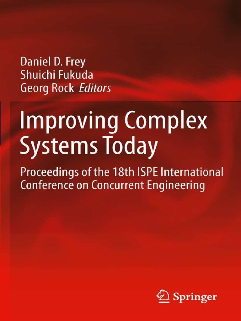Daniel D  Frey, Shuichi Fukuda, Georg Rock - Improving Complex