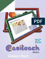 Maths Content Guide