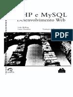 Livro PHP e MySQL Desenvolvimento Web