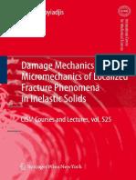 George Z. Voyiadjis - Damage Mechanics and Micromechanics of Localized Fracture Phenomena in Inelastic Solids.pdf