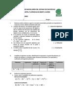 Examen Extraordinario Matematica 2 3 Ocho Tantos