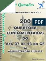 1721_Da Administração Pública - Art. 37 Ao 43 Da CF - Apostila Amostra