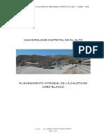 Planeamiento Integral El Alto