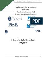 01 XX Diplomado - I Contexto de La Gerencia de Proyectos Pag 1 Al 32