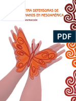 Violencia Contra Defensoras de Derechos Humanos en Mesoamérica
