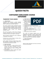 ADEADV1040 Quick Facts & T&C - Container Side Loader