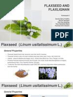 Kelompok 8_Flaxseed and Flaxlignan