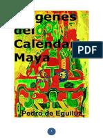 Origenes Del Calendario Maya-libre