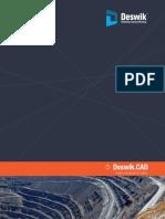 Deswik.cad Diseño y Modelado de Sólidos