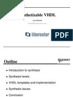 Meet Synthetizable Vhdl