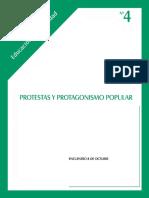 protestas y protagonismo popular