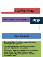 Health Belief Model Theory