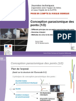 JT Seisme 2012 J2 2 Conception Parasismique Ponts 1 Analyses V3