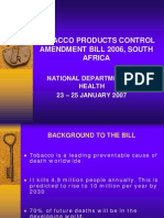South Africa_Tobacco Control