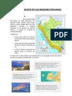 Formas de Relieve de Las Regiones Peruanas