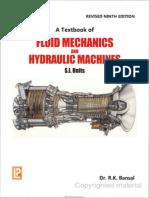 A TextBook of Fluid Mechanics and Hydraulic Machines - Dr. R. K. Bansal.pdf
