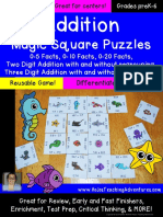 Magic Square Puzzle