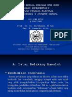 Presentasi Seminar Proposal Tesis Sekolah Standar Nasional Smp n 3 Patebon