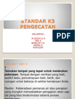 Standar k3 Pengecatan