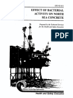 1994 Effect of Bacterial Activity on North Sea Concrete