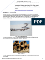 Article CO2CorrosionCHEM409 - Background of CO2 Corrosion