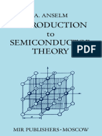 Anselm Introduction to Semiconductor Theory Mir