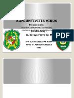 KONJUNTIVITIS VIRUS.pptx