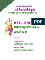 2. Tableau de Bord (P.pleignet, J.martin)