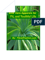 Aloe Vera Apparels for Fit, And Youthful Life
