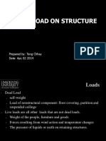 1 Load on Structure