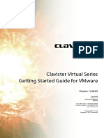 Clavister Virtual Core Series Vmware Getting Started Guide 12.00.05 En