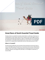 Great Rann of Kutch Essential Travel Guide