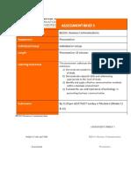 BIZ101 Business Communication - Onlineassignmenthelp.com